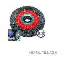 brosse métallique circulaire 178 mm pour touret | 178 mm