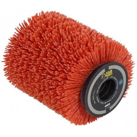 Brosse nylon abrasif pour nettoyer, décrasser 80x100 mm pour rénovateur REX 80 FATOOLS