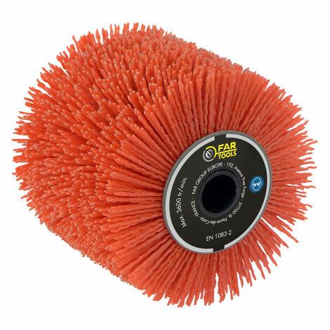 Brosse nylon abrasif pour nettoyer, decrasser - pour renovateur REX 120C, REX 200, REX-H200 FARTOOLS