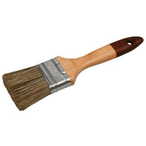 Brosse plate pro pour lasure et traitement des bois
