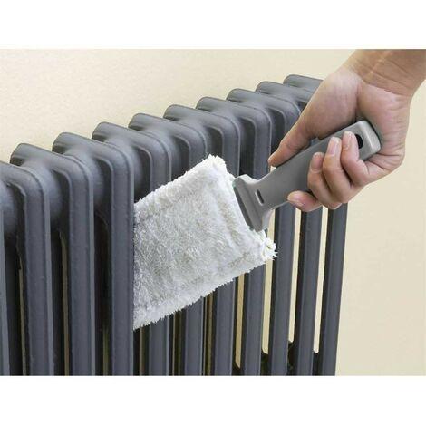 Brosse radiateur microfibre - Astuceo