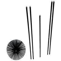 BROSSERIE CARDOT - Kit de ramonage en nylon - D: 250 mm + 5 cannes