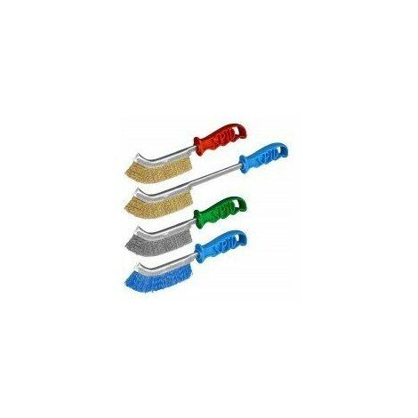 Brosses convexes 'spid' les vraies brosse longue 370 mm fils acier laitonné
