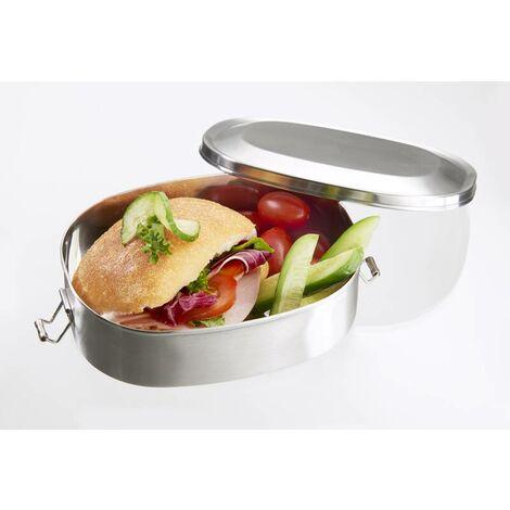Brotdose/Lunchbox, Vesperdose Edelstahl