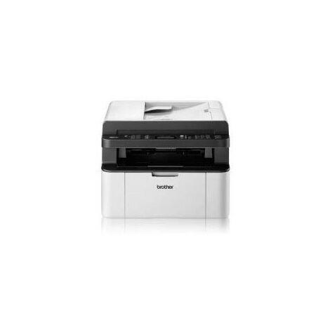 Brother MFC-1910W - Laser - Impression mono - 2400 x 600 DPI - Copie simple - A4 - Noir - Blanc (MFC1910WG1)