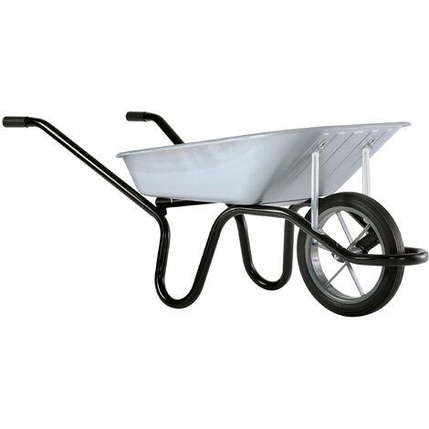 Brouette 100 litres caisse galva roue pleine Aktiv Premium