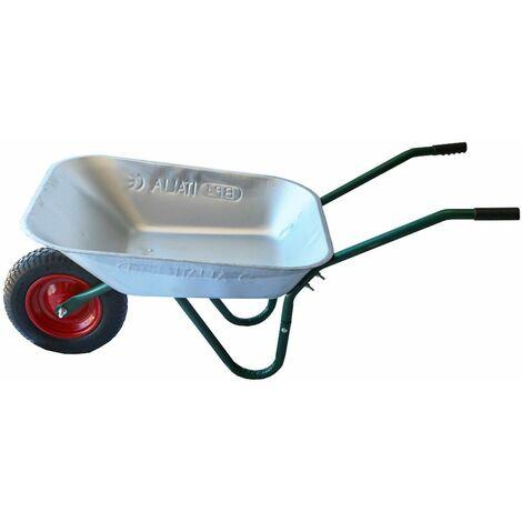 Brouette de chantier et de jardinage acier anti corrosion