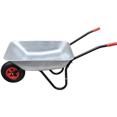 Brouette de jardinage à une roue 80 L