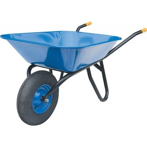 Brouette Fagro F 85 roue gonflable 400x100 - 85 litres