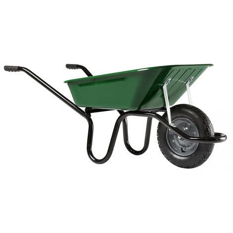 Brouette Haemmerlin Aktiv Excellium peinte roue gonflée 100 L - 305251022 - -