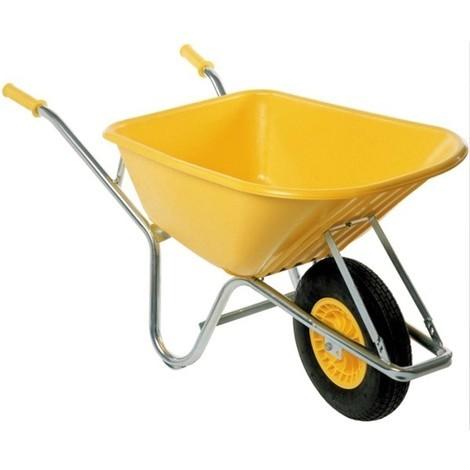 Brouette Hercule jaune 110 L ALTRAD - APE100P