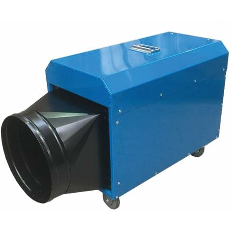 Broughton FFHT32 Industrial Heater 32A Black Spigot & Remote Thermostat