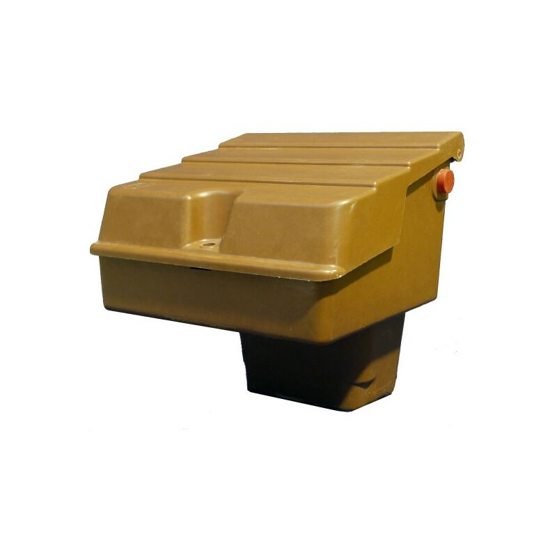 Image of Brown Semi-Buried Gas Meter Box Suits U6 Metal Meter - G60039 - Mitras
