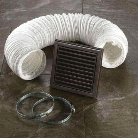 Brown Ventilation Fan Accessory Kit
