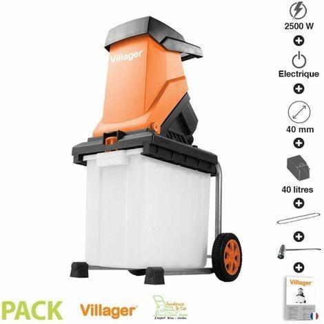 Broyeur de branches électrique 2500W Villager VC 2500