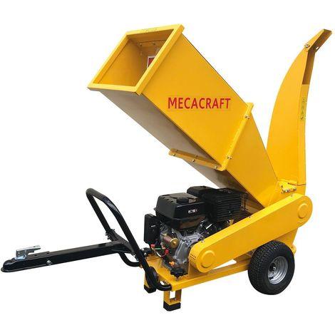 Broyeur de branches thermique professionnel Mecacraft GSR150