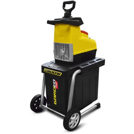 Broyeur de végétaux électrique 2800W 44MM - Gardeo