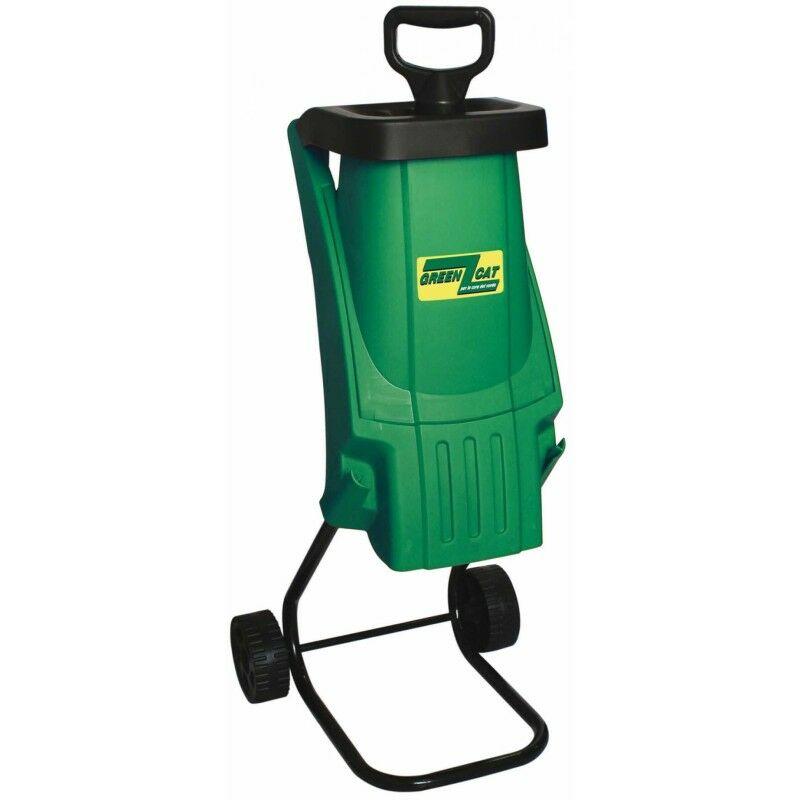 Broyeur électrique Végétaux Green Cat Super Tritone 2400W. 2900 trs/min. Coupe Ø4cm.