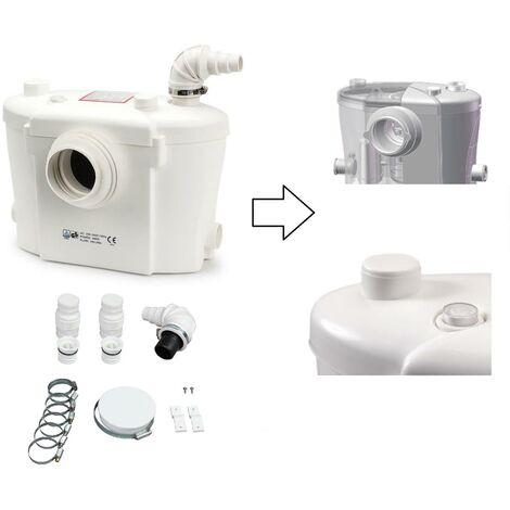 Broyeur Sanitaire / WC 400W + filtre charbon actif - Silencieux