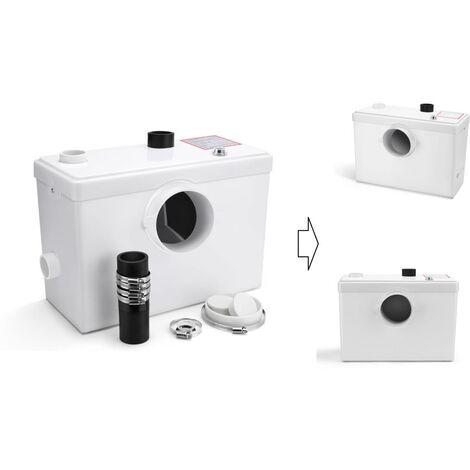 Broyeur Sanitaire / WC 600W - 3 en 1 WC + Lavabo, douche