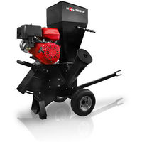 Broyeur thermique de végétaux tractable avec moteur ohv 13 cv - 389 cc