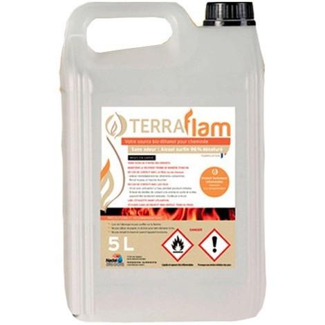 Bioetanol combustible para estufas