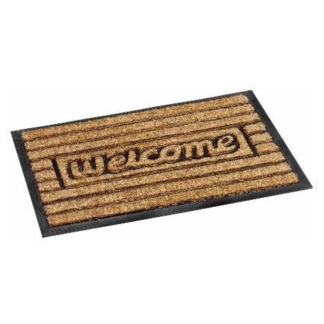 Bruce Starke Fitzroy Doormat - Heavy Duty Coir Brush with Rubber Back