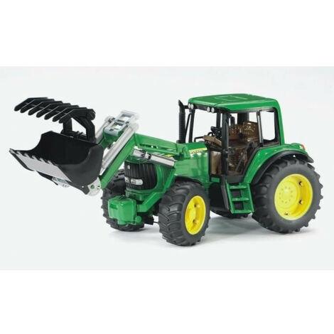 BRUDER - 2052 - Tracteur JOHN DEERE 6920 avec fourche - 38 cms