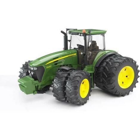 BRUDER - Tracteur JOHN DEERE 7930 avec roues jumelees