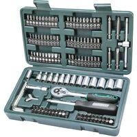 Brüder Mannesmann 130 Piece Bit and Socket Set 29166