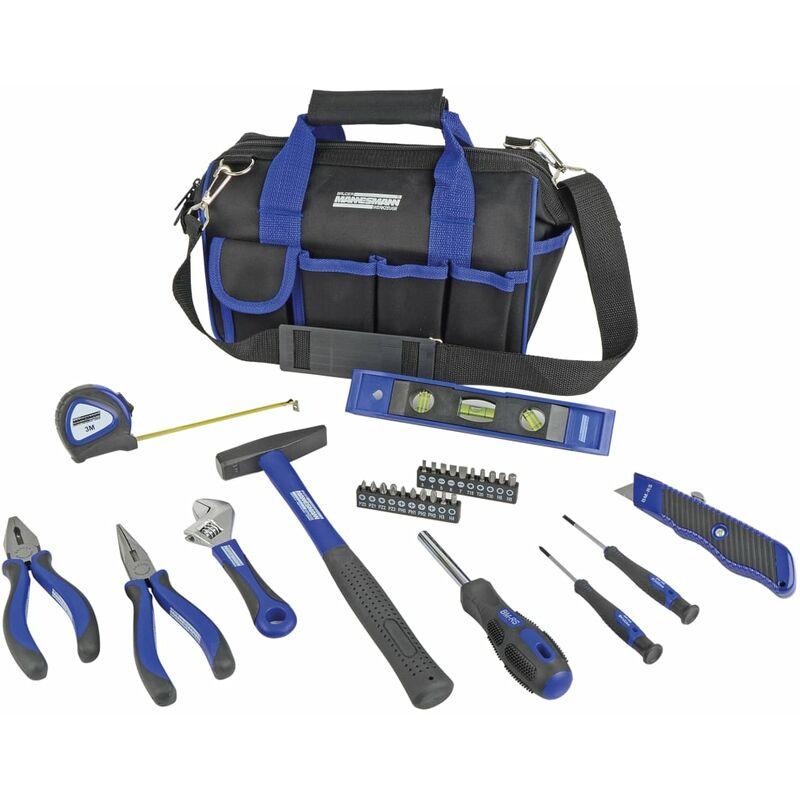 Image of 30 Piece Tool Set in Travel Bag - Brüder Mannesmann