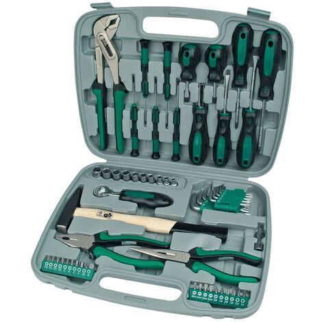 Brüder Mannesmann 57 Piece Tool Set Green 29057