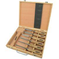 Brüder Mannesmann 7 Piece Wood Carving Tool Set 66107