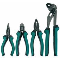 Brüder Mannesmann Four Piece Pliers Set Steel 10997
