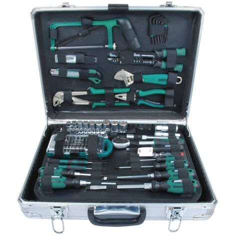 Brüder Mannesmann Set de herramientas 124 piezas 29072