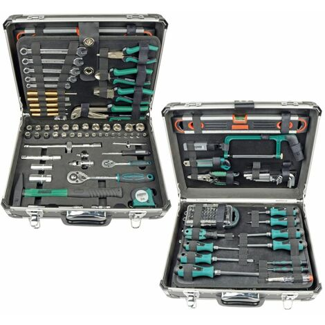 Brüder Mannesmann Set de herramientas 160 piezas 29078
