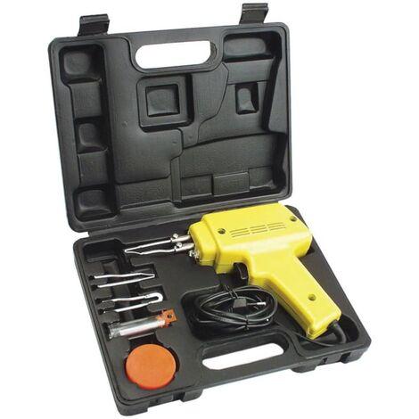 Brüder Mannesmann Set Pistola soldadora 6 piezas 100 W 49110