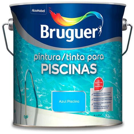 "main image of ""BRUGUER HAMMERITE XYLADECOR Pintura para piscina azul mar egeo 5326479"""