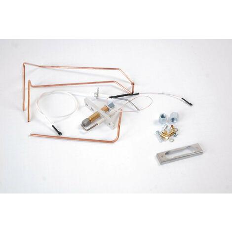 Bruleur allumage complet 3 a 10 elements DTG 120 ECONOX, DE DIETRICH, Ref. 83885504