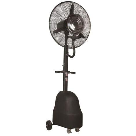 Brumisateur ventilateur d'extérieur avec réservoir
