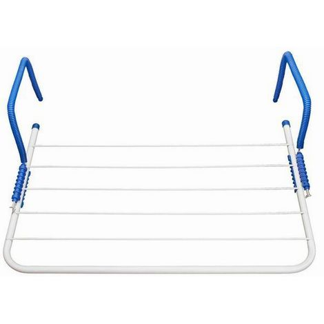 Brunner Mary Caravan Window Clothes Airer (One Size) (White)