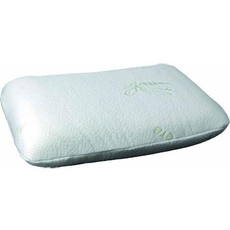 Brunner Travel Neck Memory Foam Pillow (One Size) (White)