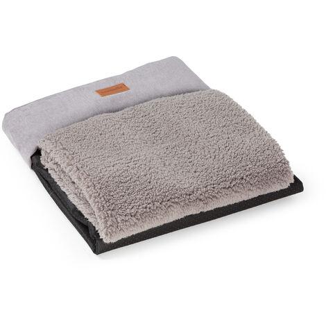 """main image of """"Bruno lit pour chien housse de rechange   lavable   antidérapante   respirante   taille XL (120 x 17 x 85 cm)"""""""