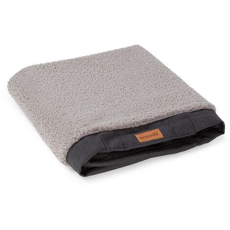 Brunolie Balu XL Funda de recambio para la cama para perros | Lavable | Antideslizante | Transpirable | Tamaño XL (120 x 10 x 72 cm)
