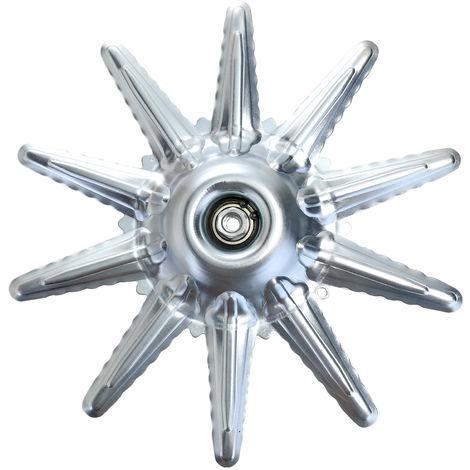 Brush cutter weeder protection machine blade