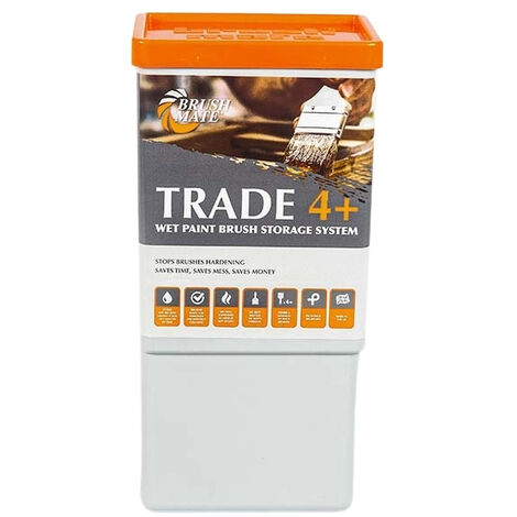 Brush Mate - Trade 4+ Paint Brush Storage Solution With Pad