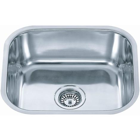 Brushed 304 Grade Stainless Steel Undermount Kitchen Sink Bowl 435x360mm (A12 mr)