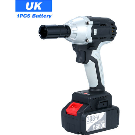 """main image of """"Brushless Impact Wrench Cordless Electric Impact Wrench with 1/2in Chuck 4.0A Battery with Driver Impact Sockets"""""""