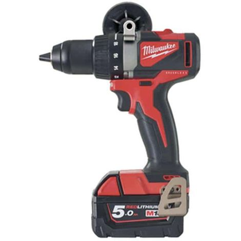 Brushless percussion drill MILWAUKEE M18 BLPD2-502X 18V - 2 batteries 5.0Ah - 1 charger 4933464517