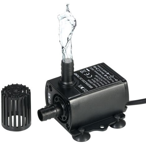 Brushless Water Pump Submersible Fountain Aquarium Circulating QR50A
